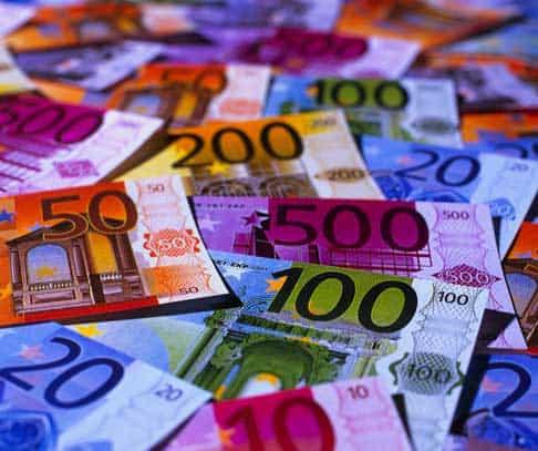 Geld storten bij een casino